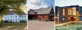 Nio fantastiska hus  till salu i Sydsverige