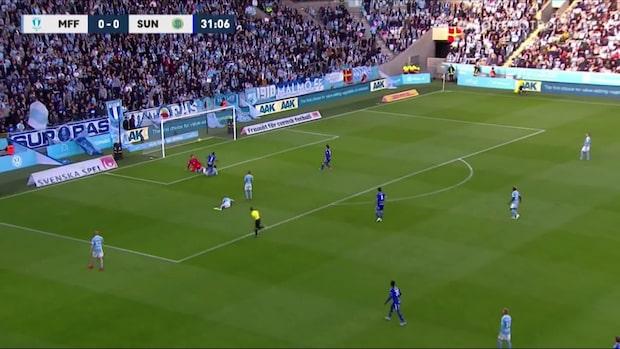 Pa Konate chockar MFF-publiken - sätter 1-0 till Giffarna