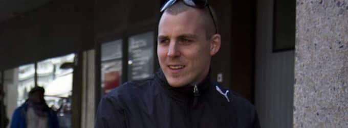 Erik Bergkvist i Gais. Foto: Claes Hillén