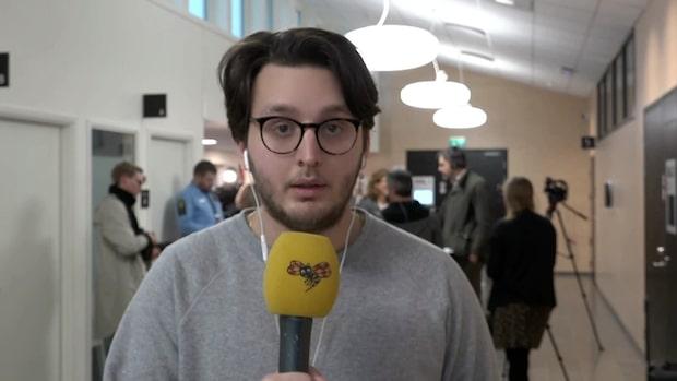 """Reporter Leotrim Jusufi: """"Han var lugn och samlad"""""""