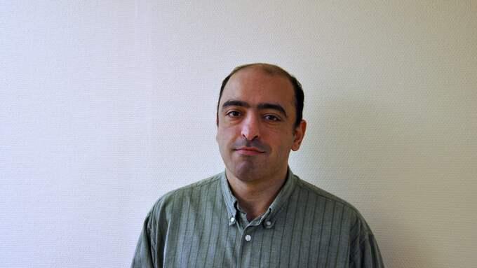 Nima Gholam Ali Pour (SD), ersättare i Malmö fullmäktige. Foto: PRESSBILD