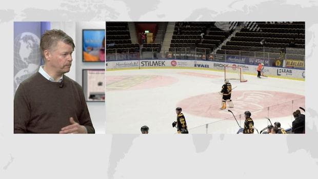 """Hockeyslutspelet flyttas fram: """"Galet att följa rapporteringen"""""""