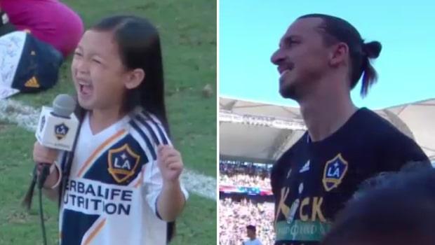 Sjuåriga Malea Emma fick Zlatans hjärta att smälta