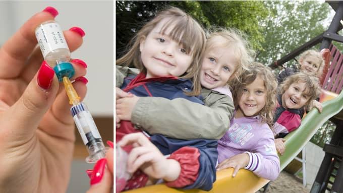 Vaccinmotståndarna utsätter barn och sjuka för stora risker. Foto: LASSE NOERBAEK / COLOURBOX.COM/LUKAS SCHULZE / AP DPA