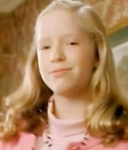 Linnie, Kevins storasyster, eller Angela Goethals som hon heter. Så såg hon ut 1990. Foto: PRIVAT