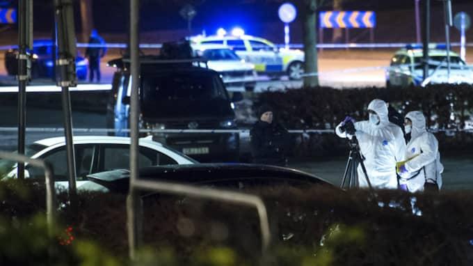 Han sköts sedan till döds med cirka 30 skott. Foto: Johan Nilsson / TT