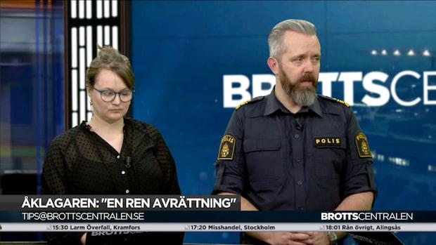 """Johan Heed: """"Riktigt bra jobbat av polisen i Malmö"""""""