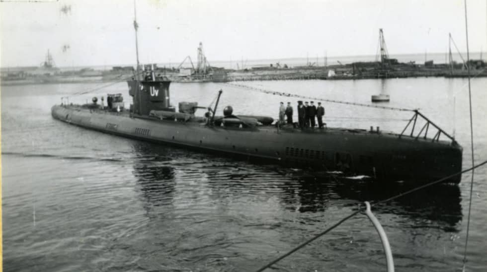 HMS Ulven. Foto: Sjöhistoriska Museets Fotoarkiv