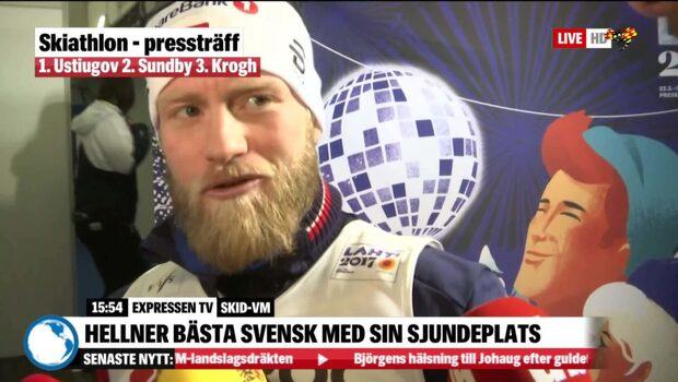 """""""Det var skit"""" – Sundby om misstaget"""