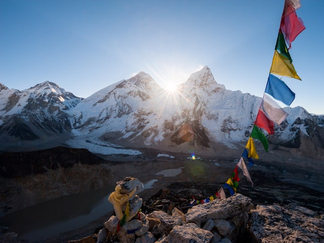Den prisade kocken Sanjay Thakur vill slå världsrekord med sin pop-up-restaurang på Mount Everest.