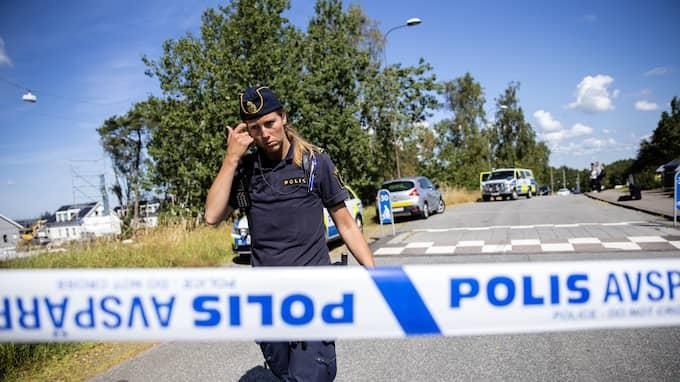 Det var på morgonen den 20 juli som tragedin uppdagades. Foto: HENRIK JANSSON
