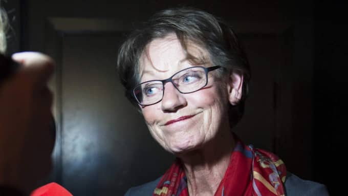 Fi:s Gudrun Schyman. Foto: Olle Sporrong