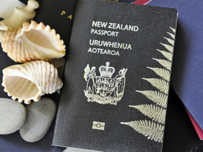 Svarta pass, som i Nya Zeeland, är mest sällsynta av de fyra.
