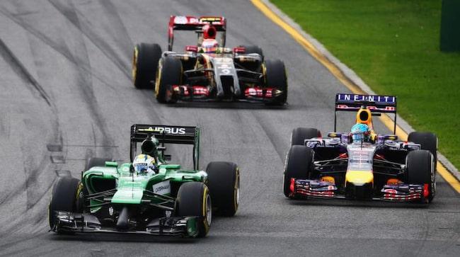 Marcus Ericsson tvingades avbryta sin F1-debut i Melbourne efter 29 varv.