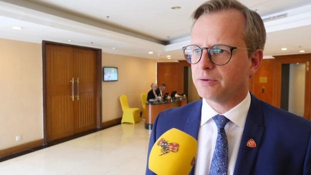 """Damberg: """"Stort intresse för svenska företag"""""""