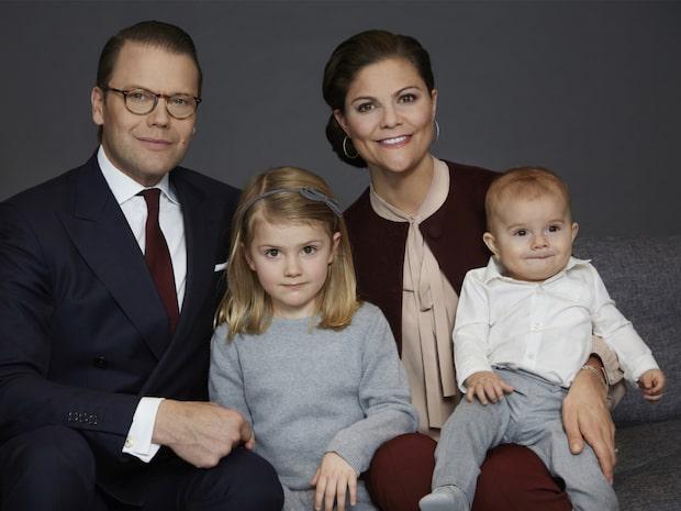 Estelle fyller fem år - så firas prinsessan