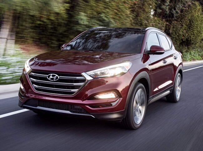 Hyundai Tucson kammar hem fem stjärnor i Euro NCAP:s senaste test.