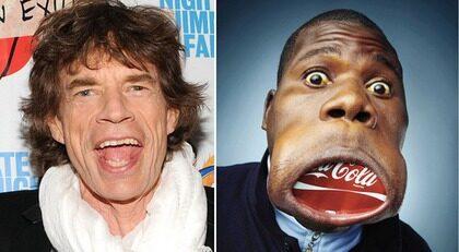 Han har världens största mun