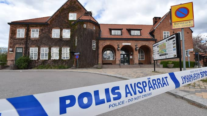 – Det är ett högprioriterat ärende, säger Björn Öberg, presstalesperson på polisen. Foto: Pontus Stenberg