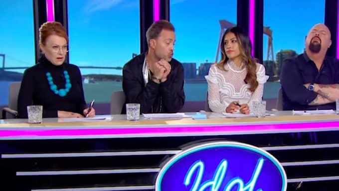 """Idoljuryn tjänar mycket pengar på att spela in """"Idol"""". Foto: / TV4"""
