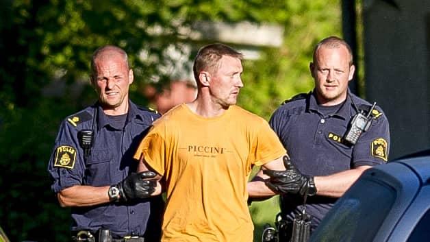 Nerijus Bilevicius greps och dömdes i både tingsrätt och hovrätt för mordet på Lisa Holm i Skaraborg. Foto: ALEX LJUNGDAHL