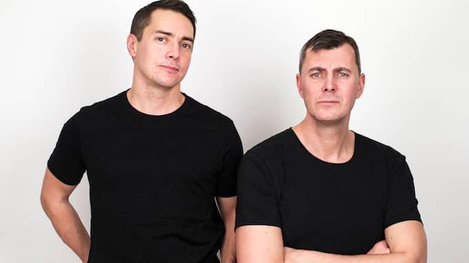 Rasmus Fleischer och Pelle Snickars. Foto: MONDIAL