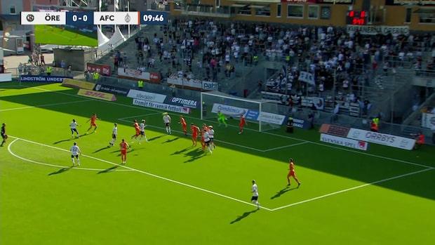 Broberg nickar in 1-0 för Örebro