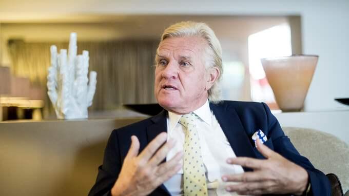 Nils Wiberg är en engagerad storsponsor. Foto: DANIEL STILLER / BILDBYRÅN / BILDBYRÅN