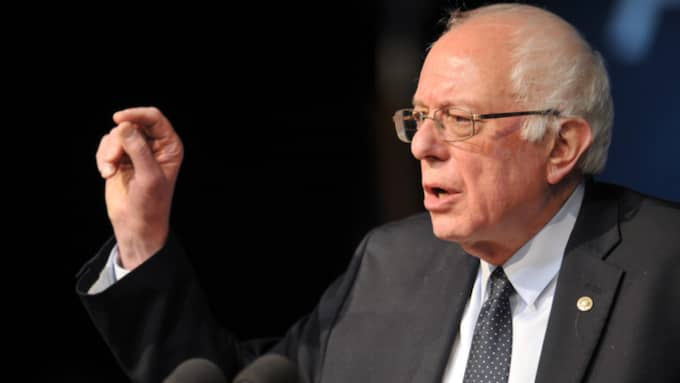 Bernie Sanders tog en stor seger i Michigan. Foto: Phil Mcauliffe