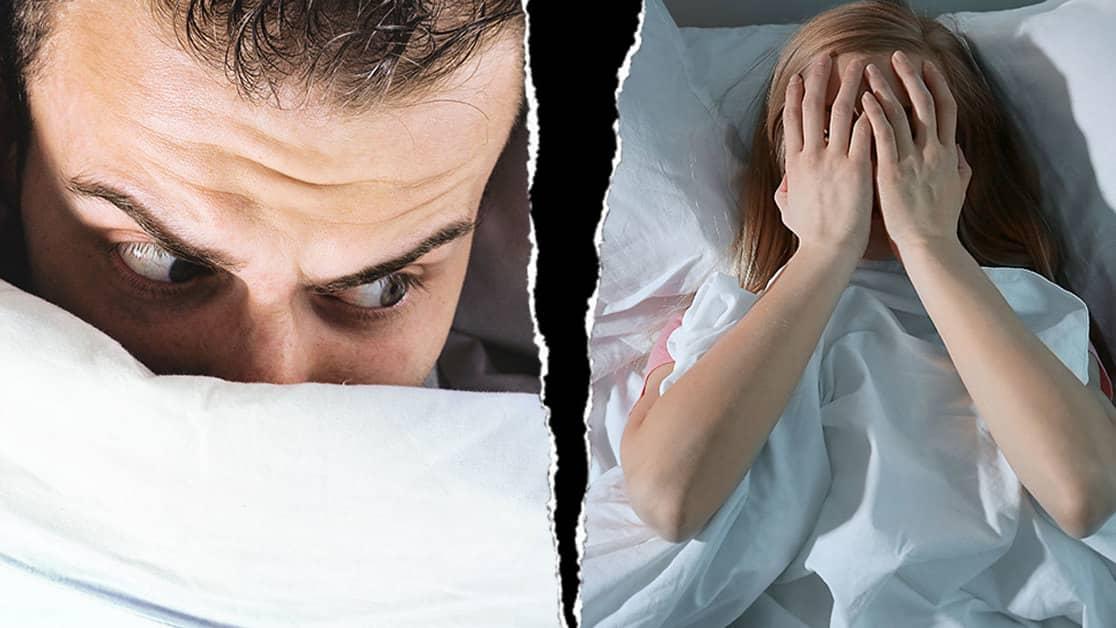 ryck innan sömn