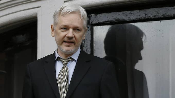 Wikileaksgrundaren Julian Assange. Foto: Kirsty Wigglesworth / AP TT NYHETSBYRÅN