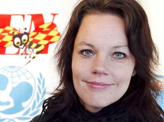 Veronica Palm, bostadspolitisk talesman för Socialdemokraterna. Foto: Sven Lindwall