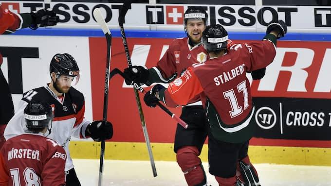 Mats Rosseli Olsen blev dubbel målskytt. Foto: TOMMY HOLL