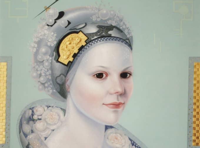 """""""H.K.H. Kronprinsessan Victoria"""" av Anna Kalinitchenko Jalpachik. (Bilden är beskuren)."""