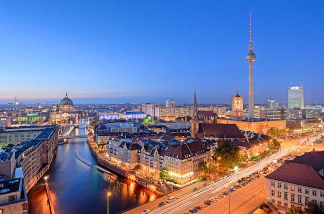 <span>Berlin är höstlovets mest populära destination.</span>