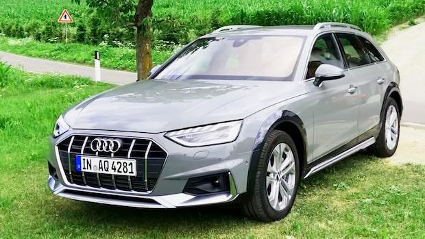 Vi provkör nya Audi A4 Allroad