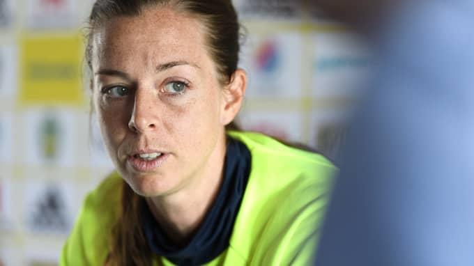 Lotta Schelin. Foto: CARL SANDIN / BILDBYRÅN