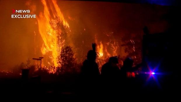"""Rebecca om bränderna i Australien: """"Då blev jag rädd"""""""