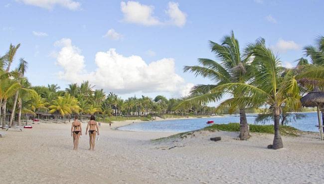 Belle Mare är en av Mauritius bästa och populäraste stränder. Många av öns lyxiga resorter ligger längs stranden.