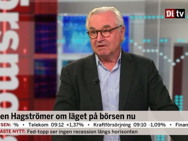 """Hagströmer om börsen: """"Som ett Kalle Anka-stup"""""""