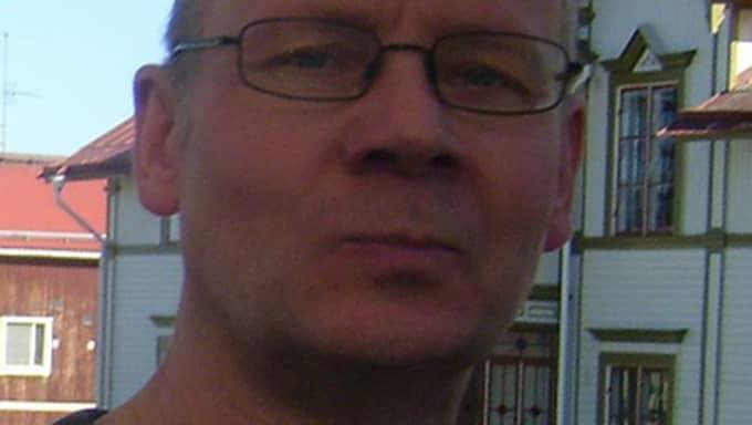 Janne Havnö, 57, hittade en väska med pengar. Foto: Privat