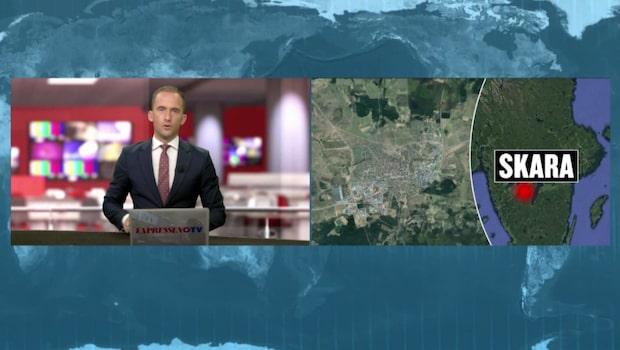 Jordskalv i Skara: Hela byggnaden skakade
