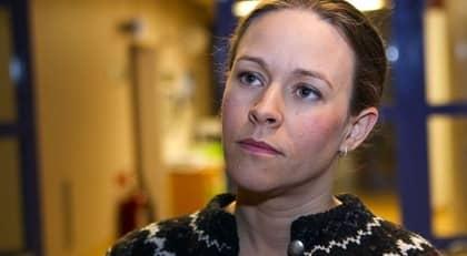 BORGERLIG TAKTIK. Jan Björklund (FP) och Fredrik Reinfeldt (M) vill inte uttala Maria Wetterstrands namn när de pratar om Miljöpartiet. Foto: Roger Vikström