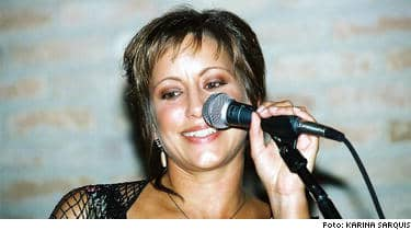 Efter en tids tysnad bjöd Lisa Nilsson på konsert i Brasilien.