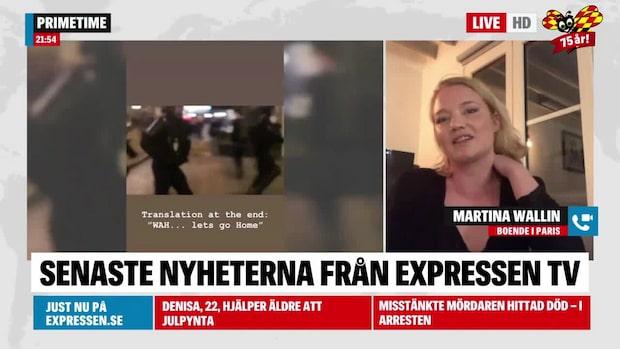 Våldsamt i Paris när Gula västarna protesterar