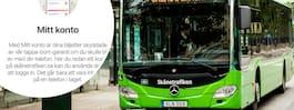 Varningen till resenärerna efter attacken mot appen