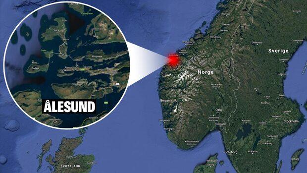 Ryskt fartyg i nöd utanför Norge