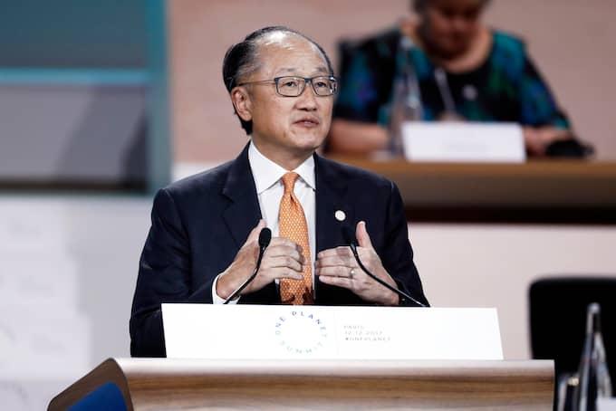 Jim Yong Kim, chef för världsbanken. Foto: ETIENNE LAURENT / POOL / EPA / TT / EPA TT NYHETSBYRÅN
