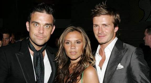 """Robbie Williams och David Beckham ska spela ett bögpar i populära serien """"Desperate Housewives"""". Så Victoria Beckham kan vara lugn. Foto: ALLOVER"""