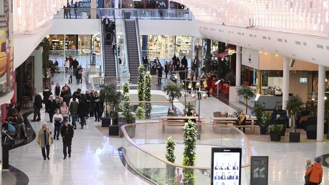 Mall of Scandinavia lockar mycket folk. Foto: Fredrik Sandberg / TT NYHETSBYRÅN